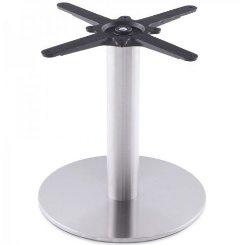 "Pied de Table ""Misco"" 45cm Argent"