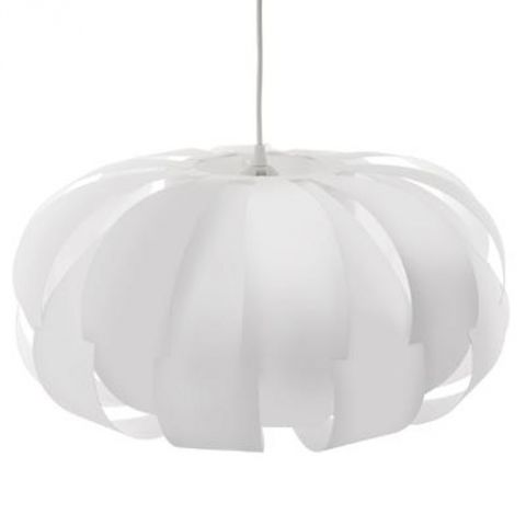"Lampe Suspension ""Blis"" 46cm Blanc"