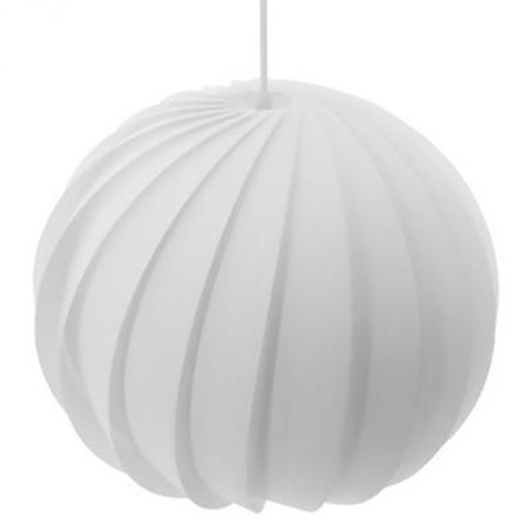 "Lampe Suspension ""Sphère"" 34cm Blanc"