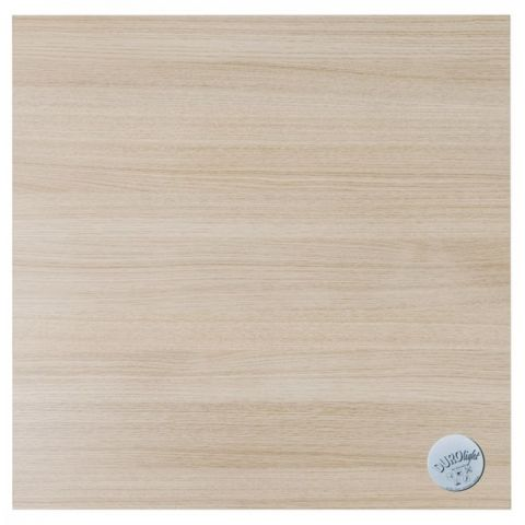 "Plateau de Table Bois ""Woodca"" 68x68cm Beige"