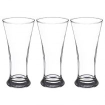 "Lot de 3 Verres à Pastis ""Marius"" 18cl Transparent"