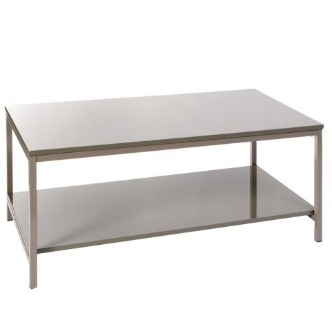 Table Basse Rectangle Verny Taupe