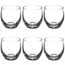 "Lot de 6 Verrines Verre Arrondies ""Bistro"" 6cm Transparent"