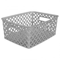"Panier Multi-Usages ""Basket"" 10cm Gris"