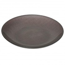 "Centre de Table en Verre ""Hibba"" 39cm Gris"