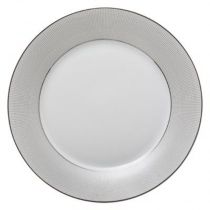 "Lot de 6 Assiettes Plates ""Asteria"" 27cm Blanc"