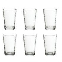 "Lot de 6 Gobelets en Verre ""Balloon"" 20cl Transparent"