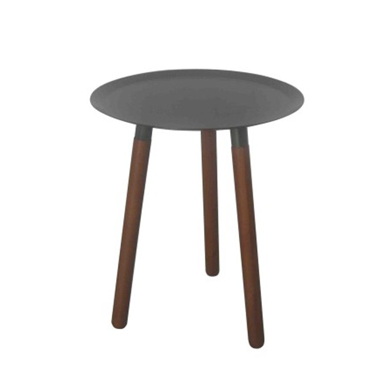 Table d 39 appoint design lily b gris - Table d appoint design ...