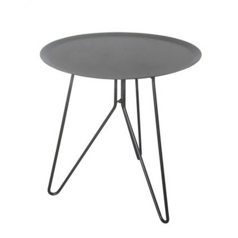 "Table d'Appoint ""Klixx"" Gris"