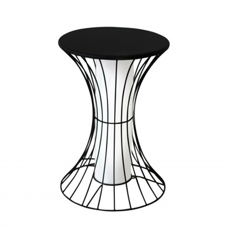 Table d 39 appoint design lumineuse buzzin noir - Tables d appoint design ...