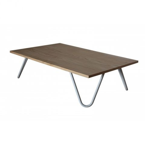 Table basse en bois helmet beige - Table basse laquee beige ...