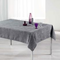 "Nappe Rectangulaire ""Alisson"" 140x300cm Anthracite"