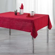 "Nappe Rectangulaire ""Filiane"" 140x240cm Rouge"