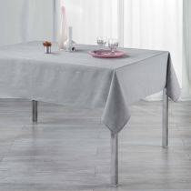 "Nappe Rectangulaire ""Filiane"" 140x300cm Gris"