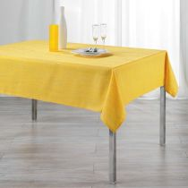 "Nappe Rectangulaire ""Filiane"" 140x300cm Jaune"