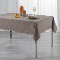 "Nappe Rectangulaire ""Filiane"" 140x300cm Taupe"