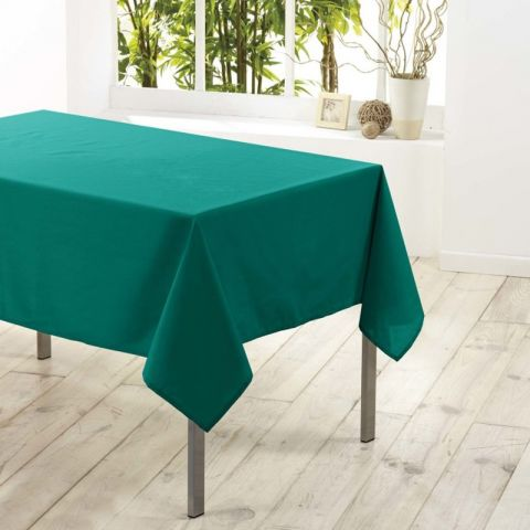 "Nappe Antitache ""Essentiel"" 140x200cm Emeraude"