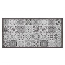 "Tapis Déco Rectangle ""Persane"" 57x115cm Gris"