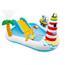 "Aire de Jeux Gonflable ""Sea Paradise"" 218cm Multicolore"