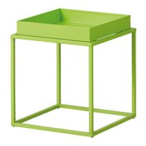 "Table d'Appoint Design ""Eza"" 40cm Vert"