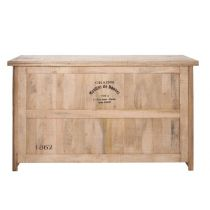 "Buffet Bar 3 Tiroirs ""Bouvet"" 180cm Naturel"