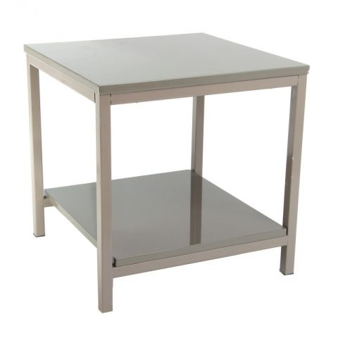 Table d'appoint Verny Taupe