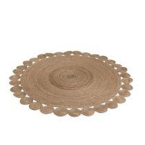 "Tapis de Salon ""Filant"" 220cm Naturel"