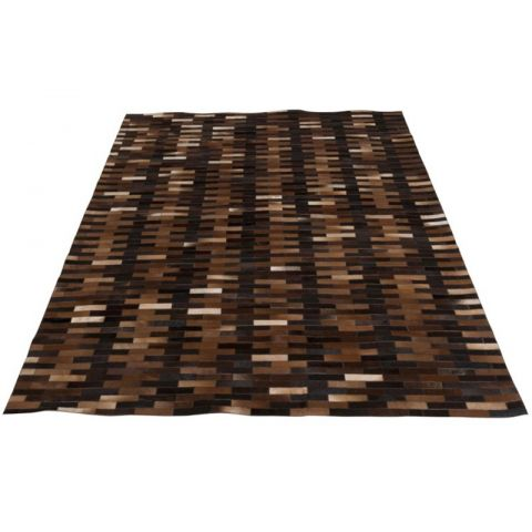 "Tapis de Salon Design ""Bao"" 200x300cm Marron"