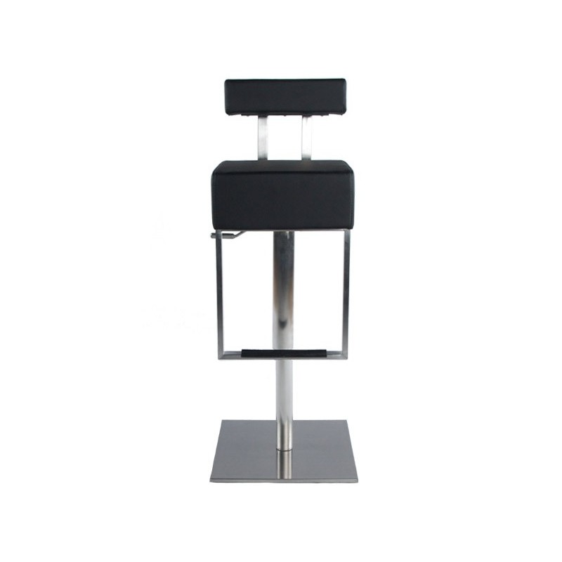 tabouret de bar pop noir. Black Bedroom Furniture Sets. Home Design Ideas