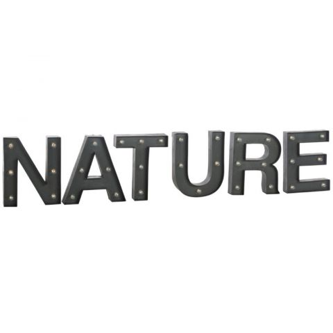 "Décoration Lumineuse Led ""Nature"" 150cm Marron"