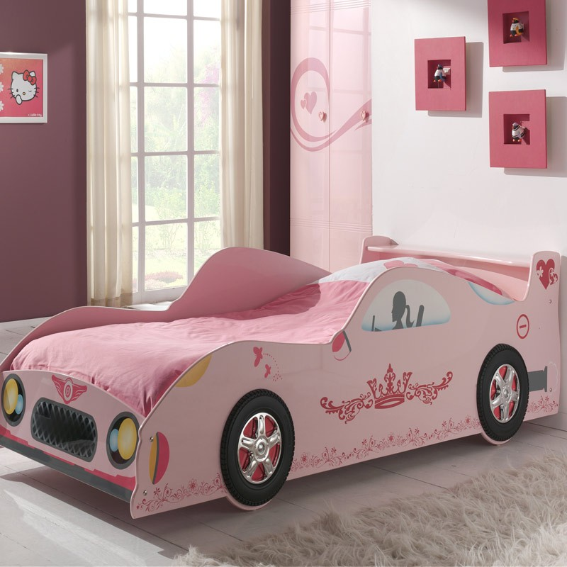 lit enfant voiture lizzy rose. Black Bedroom Furniture Sets. Home Design Ideas