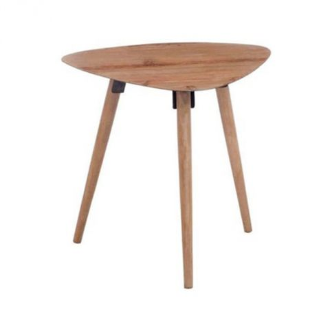 "Table Basse Design ""Zoé"" 58cm Naturel"