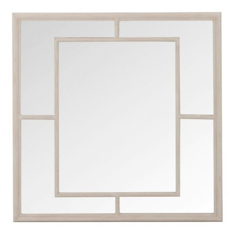 "Miroir Mural Design 5 Parties ""Strie"" 100cm Naturel"