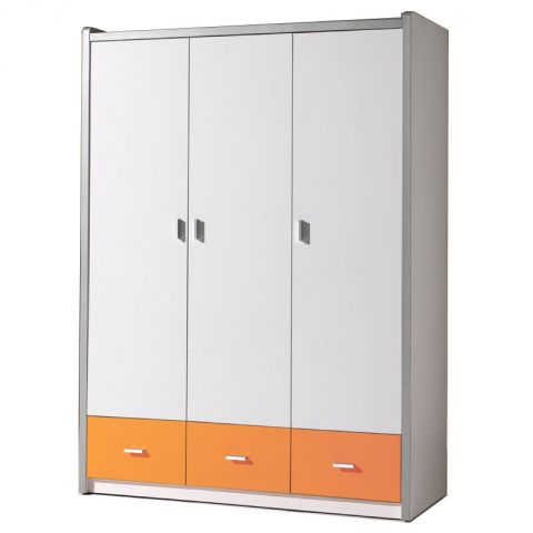 "Armoire 3 Portes ""Bonny"" Orange"