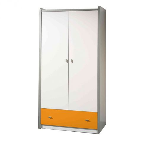 "Armoire 2 Portes ""Bonny"" Orange"