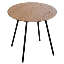 "Table à Café Contemporaine ""Mileo"" 45cm Naturel"
