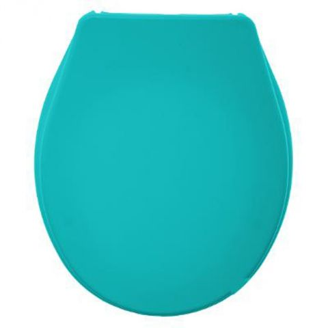 """Abattant WC """"Dolce"""" 43cm Turquoise"""