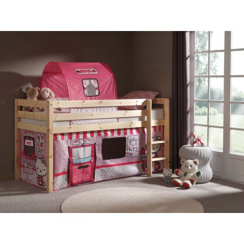 "Lit Enfant ""Pino Hello Kitty"" Naturel"
