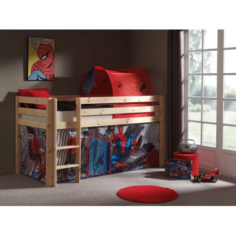 "Lit Enfant ""Pino Spiderman"" Naturel"