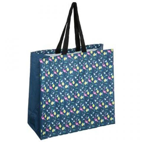 "Sac de Shopping Imperméable ""Fresh"" 45cm Bleu"