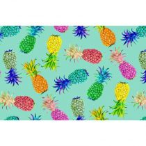"Set de Table ""Folie Ananas"" 30x44cm Menthe"