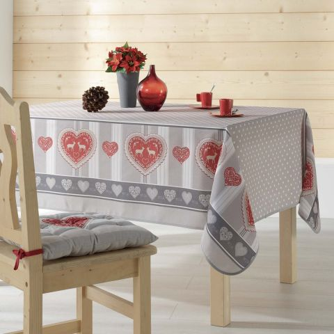 """Nappe Rectangulaire """"Edelweiss"""" 150x200cm Naturel"""