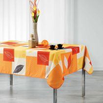 "Nappe Rectangulaire ""Soria"" 150x240cm Orange"