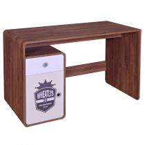 "Bureau 1 Porte & 1 Tiroir ""Wheat"" 119cm Naturel"