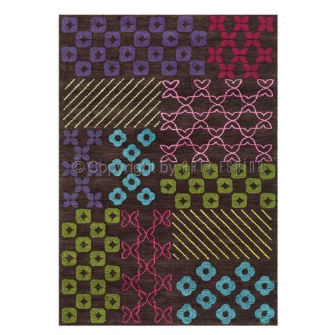 "Tapis Arte Espina ""Pattern Book"" Marron"
