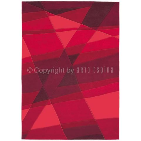 "Tapis Arte Espina ""Luminous"" Rouge"