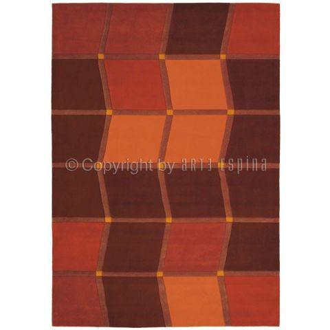 "Tapis Arte Espina ""Brownies"" Orange"