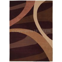 "Tapis Arte Espina ""Brownies"" Marron"
