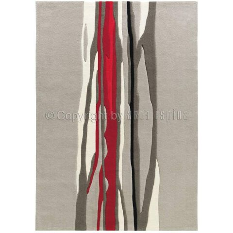 "Tapis Arte Espina ""Red Trace"" Gris"