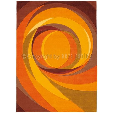 "Tapis Arte Espina ""Set Highlights"" Orange"